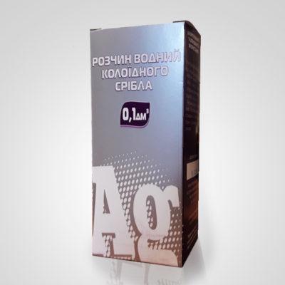 Коллоидное серебро, антибактериальное, противомикробное, противовоспалительное