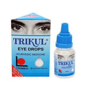 Глазные капли Трикул