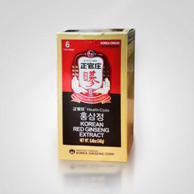 Корейский красный женьшень экстракт 240 г